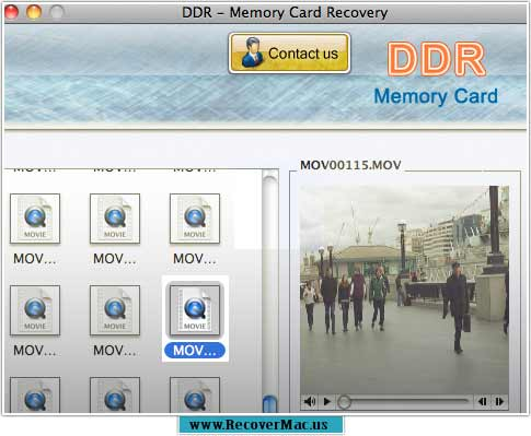 Award winning Recover Mac Data Memory Card
