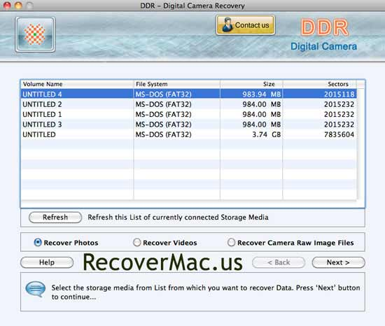 Mac Photo Recovery Program 5.3.1.2 full